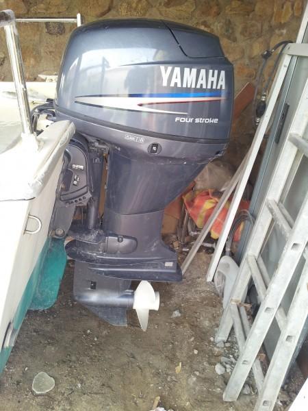 moteur yamaha sur le kurunig