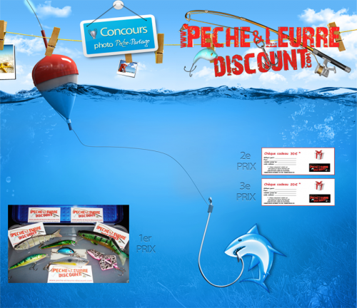 Le premier concours photo avec peche partage