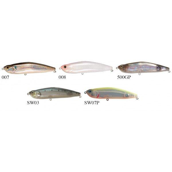 Les différents coloris du Z Claw Sinking pour la peche au leurre
