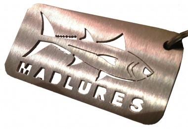 le porte clé madlures, pour les fana de pêche au leurre