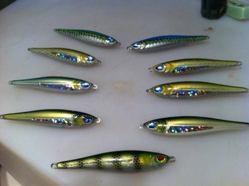 Des leurres fait main efficace pour la pêche