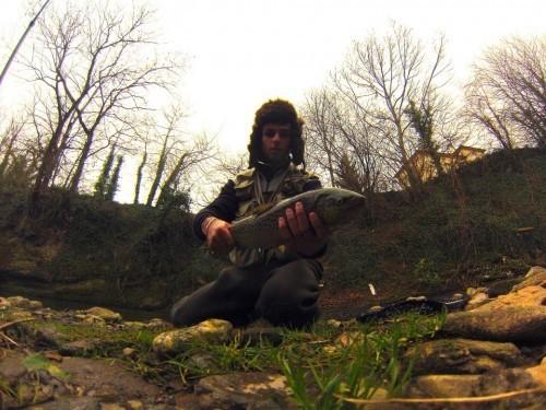 L apêche de la truite au TOC, avec un vairon !