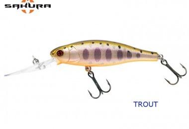 Le sakura rush diver 60 sp idéal pour la pêche de la truite et de la perche !