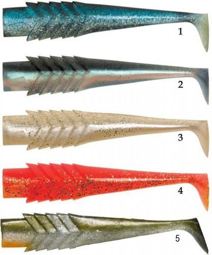 Les coloris du nitro bole shad, orienté pêche verticale !