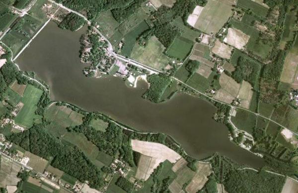 la pêche dans le gers sur le lac d'ulby