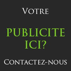 Votre publicité ici, contactez moi !