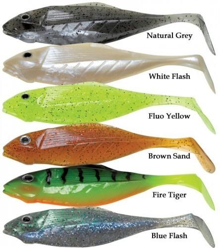 Pezon & michel, leurre souple speed gun, idéal pour la pêche