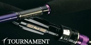 La nouvelle gamme de canne au leurre, tournament daiwa !