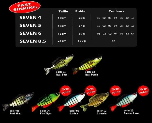 Un leurre de qualité, la pêche avec le Biwaa seven !