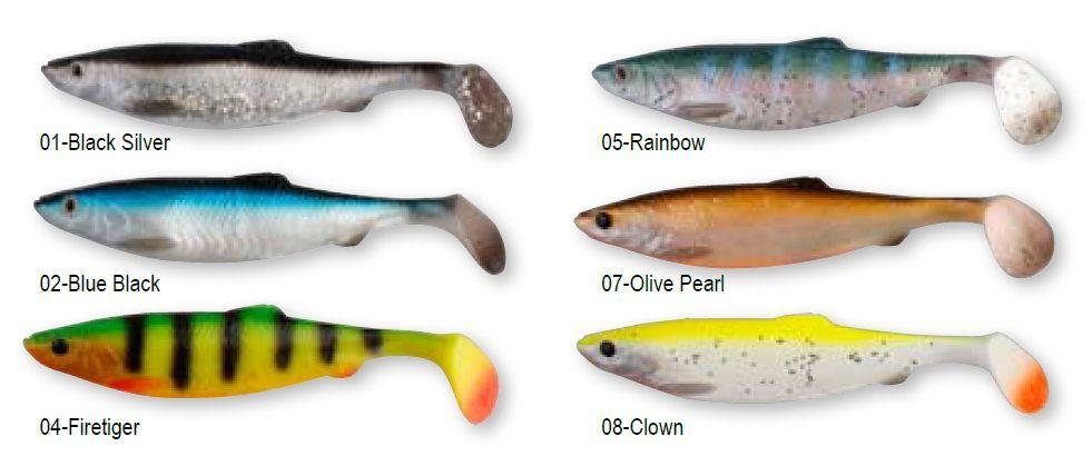 Le herring shad est un leurre réalisme avec ses yeux en 3D