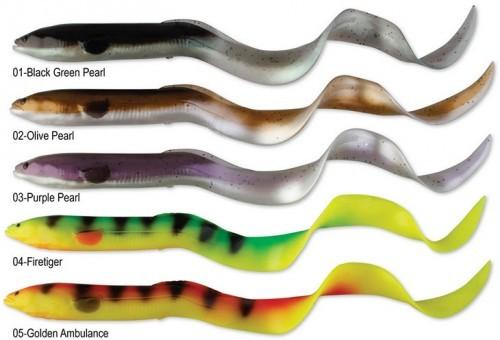 un leurre souple criant de réalisme, le real eel