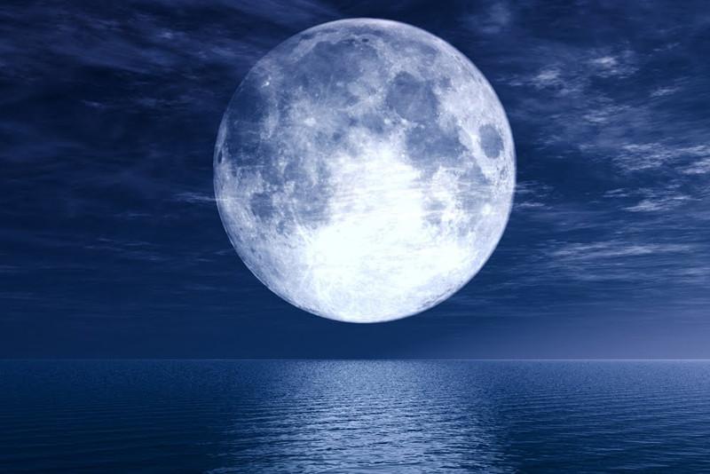 la lune et la pêche