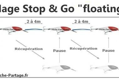 L'animation d'un leurre avec un stop & go floating !