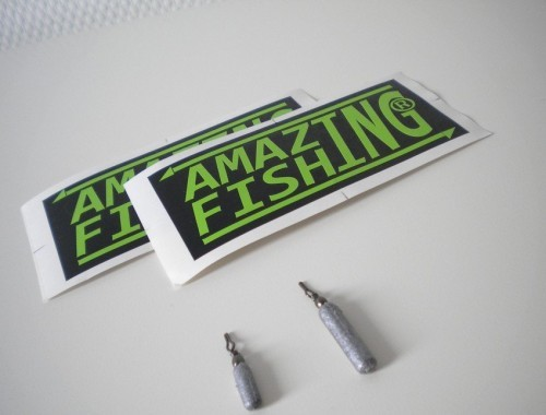 les plombs de la marque amazing fishing