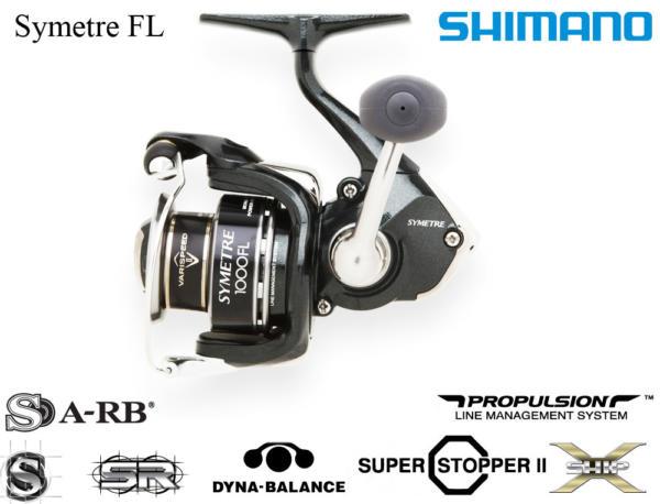 Moulinet 2013, le shimano symètre FL