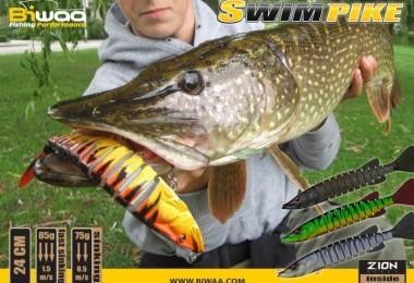 La gamme biwaa swimpike pour la pêche du brochet