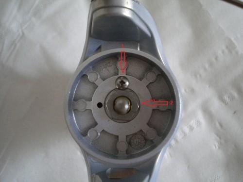 L'entretien d'un moulinet passe par le démontage du rotor !