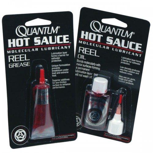 L'huile et la graisse hot sauce de quantum pour l'entretien de votre moulinet