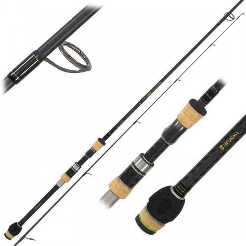 La pêche au leurre avec une canne gunki shigeki !