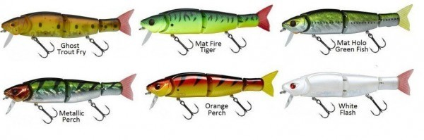 Le poisson nageur gunki itoka 155 F un swimbait redoutable !