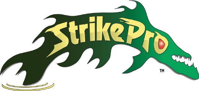 La marque de leurre strike pro bien connu des pêcheurs de brochet !