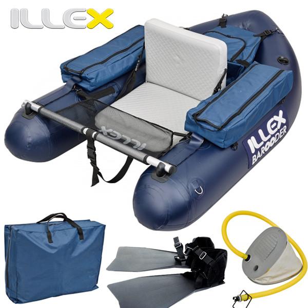 Illex barooder, un float tube haut de gamme !