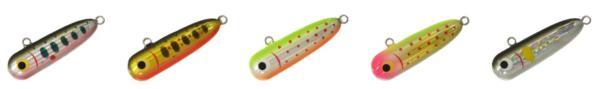 La gamme de poisson nageur smith BTK Swimmer 2