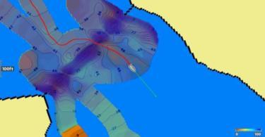La fonction autochart live dévoile une carte très détaillée