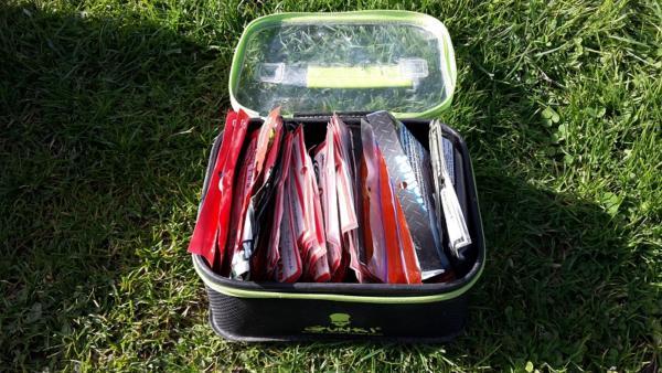 Gunki safe bag la bagagerie pêche idéale pour les leurres souple