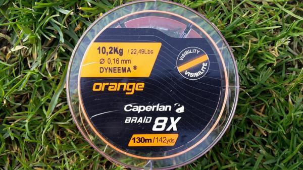 bobine de tresse de pêche caperlan 100% dyneema