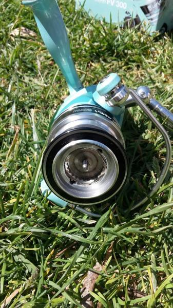 un frein de 5kg pour le moulinet gunki swm fv